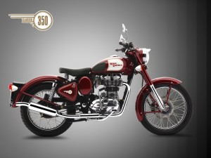 Royal-Enfield-Classic-350-Side-look